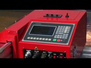 Máquina de corte de gas con llama de plasma cnc de riel pesado portátil de 1800 mm