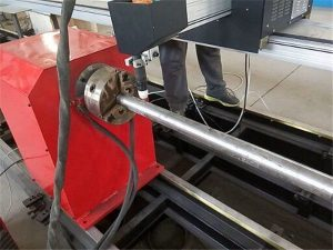 2017 Nuevo tipo portátil máquina cortadora de tubos de metal de plasma, máquina cortadora de tubos de metal CNC