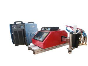 Cortadora de plasma CNC portátil automática para acero aluminio inoxidable