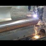 Máquina cortadora rotativa de tubo de llama de plasma CNC de 3 ejes