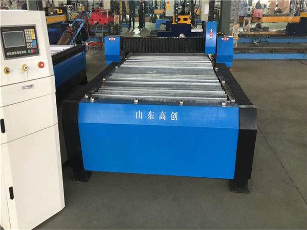China Huayuan 100A Plasma Cutting CNC Machine 10mm Placa de metal
