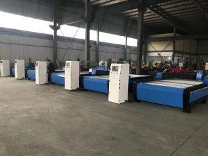 Precio de descuento 1530 máquina de corte de mesa de plasma cnc
