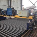 Máquina de corte por plasma CNC de pórtico de doble accionamiento que corta la línea de producción de vigas de acero sólido / h