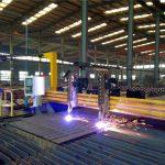 máquina de corte por plasma cnc de pórtico máquina de corte por llama placa de acero