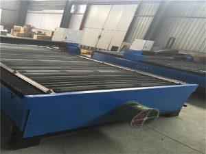 Venta caliente de corte de chapa de acero inoxidable de acero al carbono 100 cnc cortador de plasma 120 máquina de corte por plasma