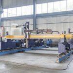 Máquina de corte de placa de metal cnc tipo pórtico inteligente maquinaria automática de corte por plasma y llama