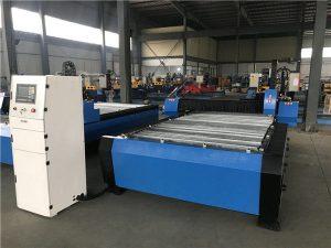 gran perforadora de corte por plasma de tubo de chapa cnc de 2000 * 6000 mm