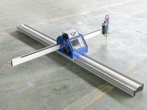 Máquina de corte por llama de plasma cnc de placa de acero pequeña de bajo costo