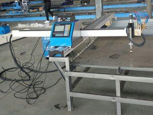 cortadora de plasma cnc portátil precio económico máquina de corte de metales
