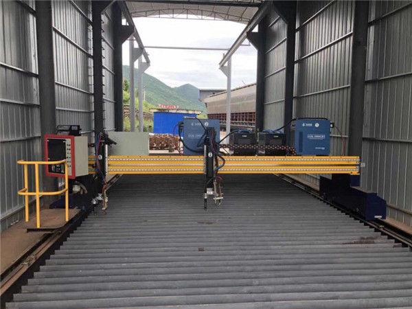 Cortadora del plasma del CNC de la precisión 13000m m exactos con el motor servo