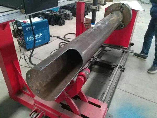 Máquina de corte por plasma CNC de bajo costo con tubo giratorio y tubo circular CNC