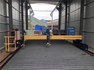 máquina de corte de chapa de plasma cnc de chapa de acero 1500x3000mm