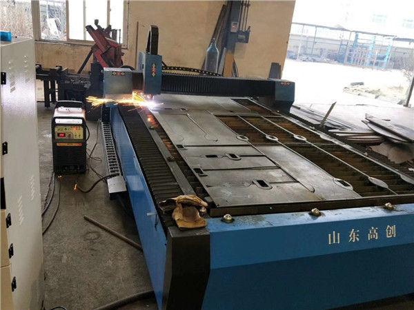 precio barato de la máquina de corte del plazma del plasma de la placa de hierro de la chapa del acero del CNC