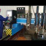 cortadora de plasma cnc de pórtico de servicio pesado fabricación de metal automatizada