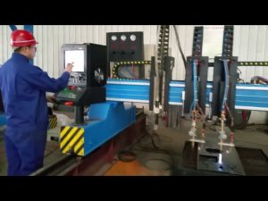 cortadora de llama de pórtico cnc