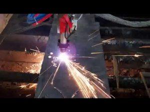 máquina de corte por plasma cnc de bajo costo máquina de corte de varilla de hierro máquina de corte circular
