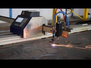 Cortadora de plasma de cnc portátil de bajo costo tipo grantry