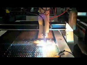 Cortadora de plasma de bajo costo cnc de acero pequeña máquina de corte por plasma