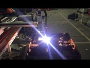 Cortadora de plasma de gas cnc portátil de bajo costo
