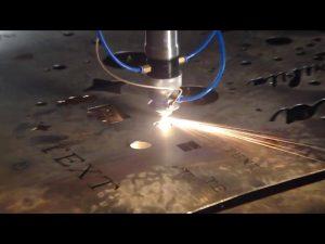 Hecho en China garantía comercial precio barato cortador portátil cnc máquina de corte por plasma para acero inoxidable metal hierro