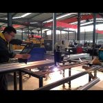 cortadora de plasma CNC en voladizo portátil