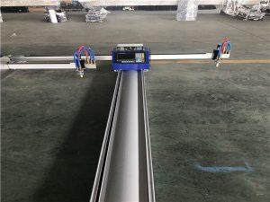 cortadora de plasma por llama cnc portátil