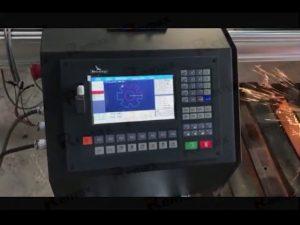 cortadora cnc portátil de llamaplasma con servomotor