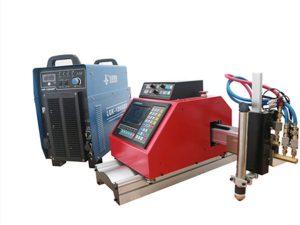 Máquina portátil de corte de chapa de plasma, gas, llama y oxígeno con THC