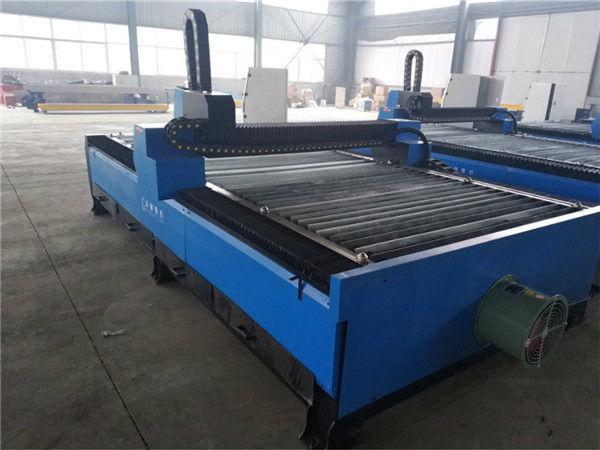 Venta directa de fábrica profesional aluminio anodizado aluminio G código cnc máquina de corte por plasma