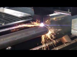 cortadora de plasma cnc de venta con cortador de plasma rotativo para tubo de metal