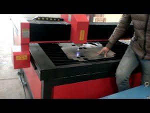 pequeña máquina de corte por plasma cnc de metal de alta precisión y bajo costo