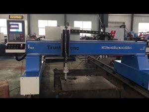 máquina de corte por plasma portátil de llama cnc de pórtico de garantía comercial para la venta