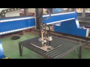 Máquina de corte por plasma de llama de placa de acero cnc de modo pórtico ampliamente utilizada